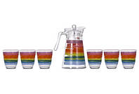 Набор для напитков LUMINARC NEO COLOR PENCIL 7 предметов