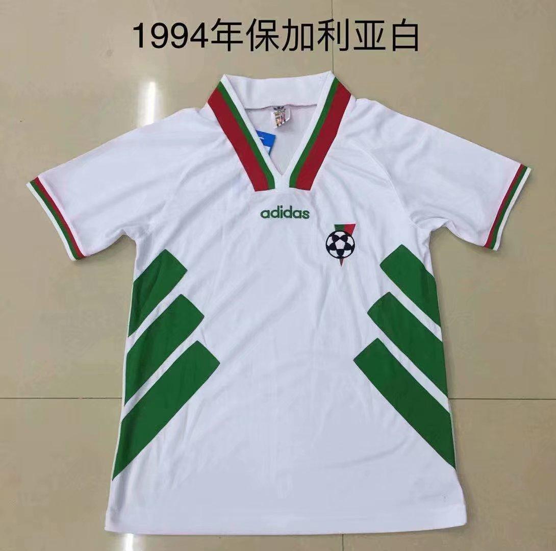 Ретро футбольная футболка сборной Болгарии ЧМ 1994