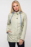 Женская куртка ветровка Ансель размер 56 олива.  NUI VERY Украина