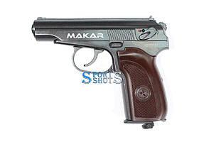 Пневматический пистолет Makar Blowback