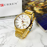 Curren 8372 Gold-White, фото 4