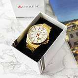Curren 8372 Gold-White, фото 3