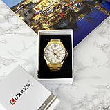 Curren 8372 Gold-White, фото 6