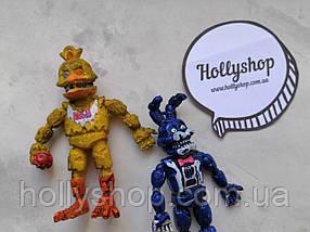 Фігурки Кошмарні Аніматроніки з гри П'ять Ночей з Фредді ФНаФ 10см, фото 2