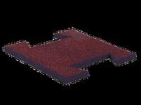 Гумова плитка-пазл 15 мм (коричнева)