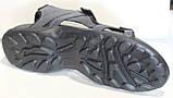 Босоніжки чоловічі шкіряні на липучках від виробника модель ДР2544, фото 2