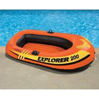 Надувная лодка Intex 58356 Explorer Pro 200, 196 х 102 см