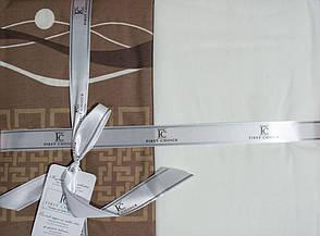 Постельное белье First Choice ранфорс 200x220 Neron Kahve, фото 2