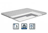 Беспружинный матрас Topper-futon 3 / Топпер-футон 3 TM Matroluxe ортопедический тонкий матрас на диван