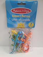 Набор игрушечных ящериц MD6062-1 Melissa