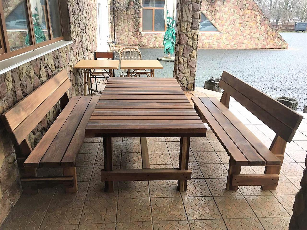 Фото дубовой массивной мебели