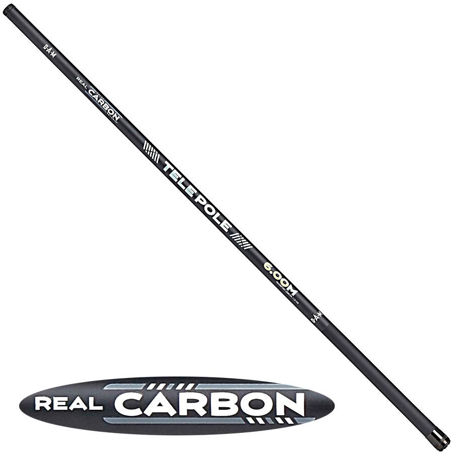 Удочка DAM Real Carbon Tele Pole 5м