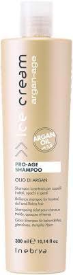 Шампунь с аргановым маслом для окрашенных волос Inebrya Ice Cream Pro Age Shampoo 300 мл.
