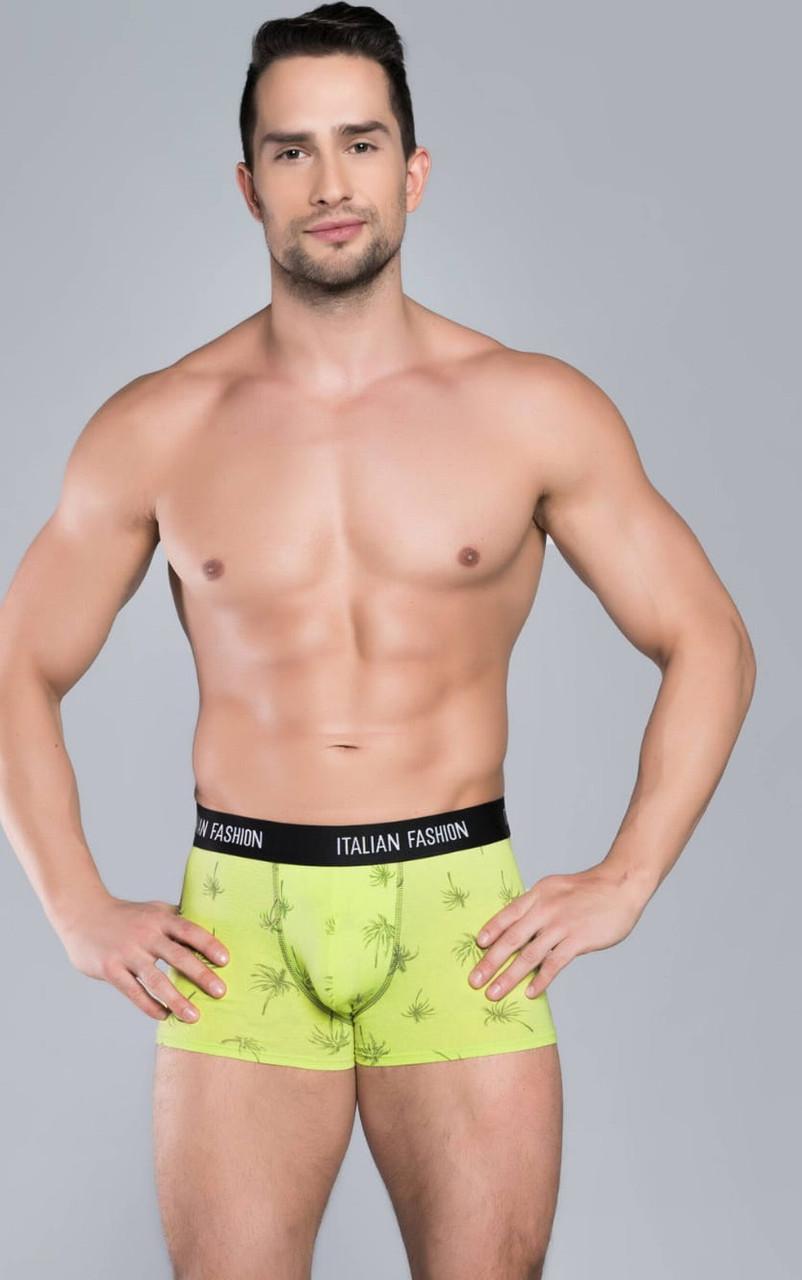 Узорчатые мужские боксерки Italian Fashion SAMUM