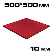 Гумова плитка 10 мм