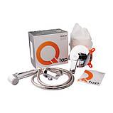 Набор для гигиенического душа со смесителем Q-tap Form CRM 001AB, фото 4