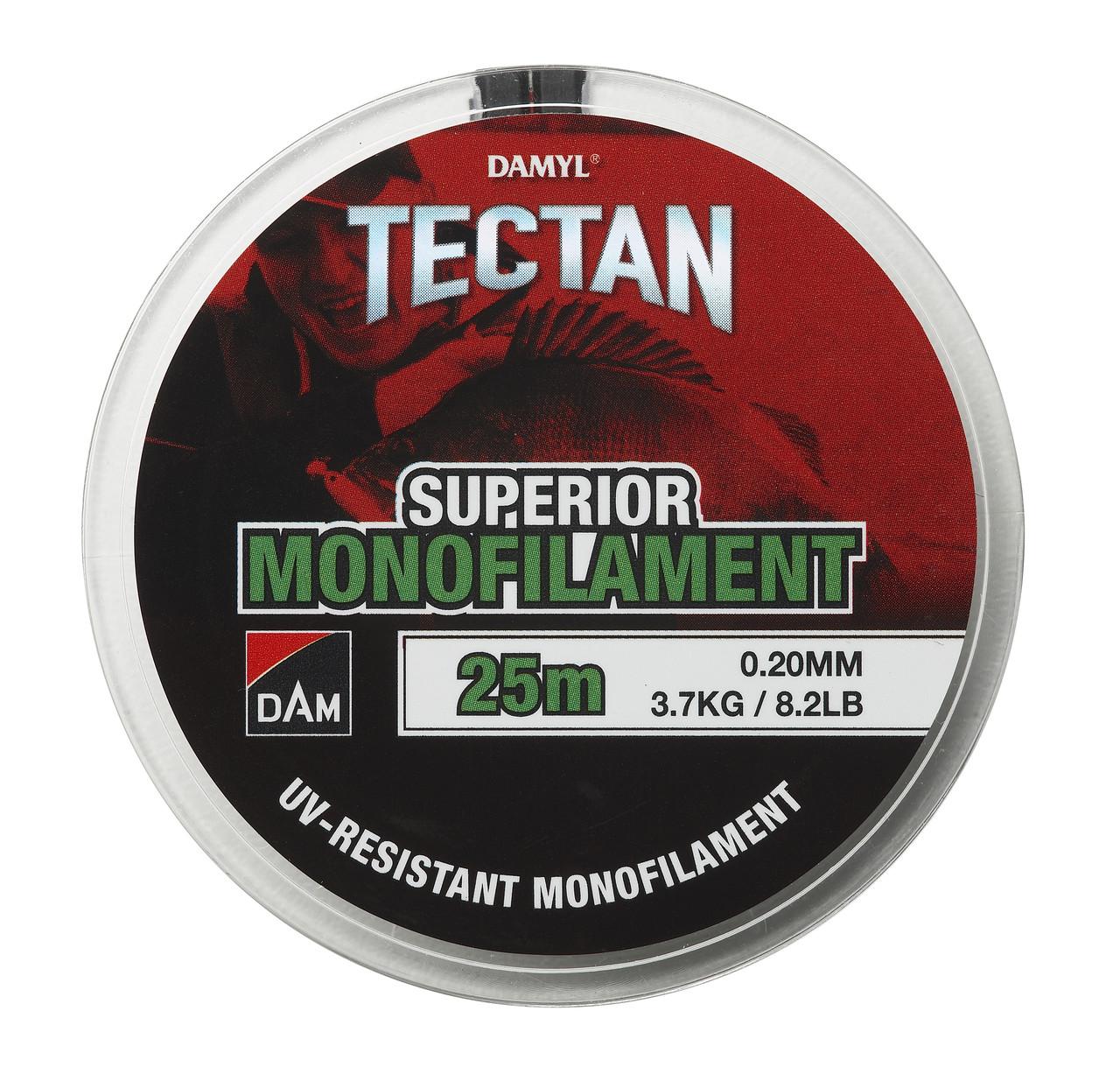 Леска DAM Damyl Tectan Superior 25м 0.20мм 3.7кг