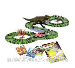 Дитяча ігрова автодорога Dinosaur Tracks 175 дет, фото 3