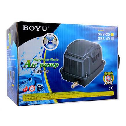 Воздушный компрессор BOYU SES-40 2400 л/ч, фото 2