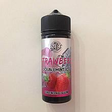 Жидкость для вейпа VB Brew Strawberry Doublemint Ice Chewing Gum 120 мл 3 мг