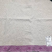 "Льняное банное полотенце ""Узор"" (65 на 130 см), фото 1"