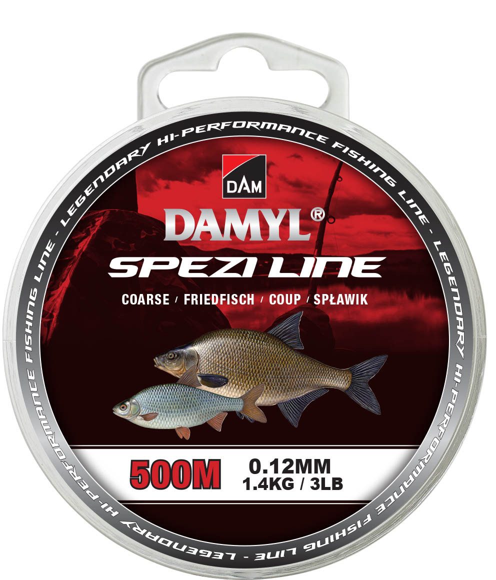 Леска DAM Damyl Spezi Line Coarse 500м 0.16мм 2.4кг (прозрачный)