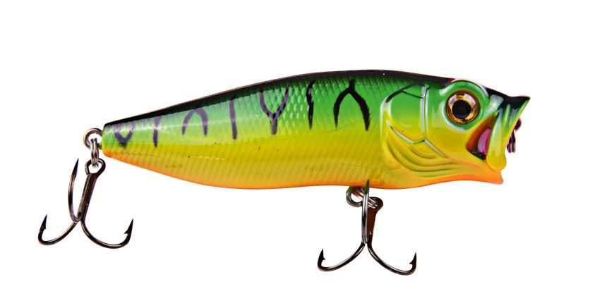 Воблер DAM Effzett Baby Popper 55мм 6гр (fire shark) FL