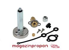 Заправочный клапан Tomasetto в люк с удлиненным адаптером