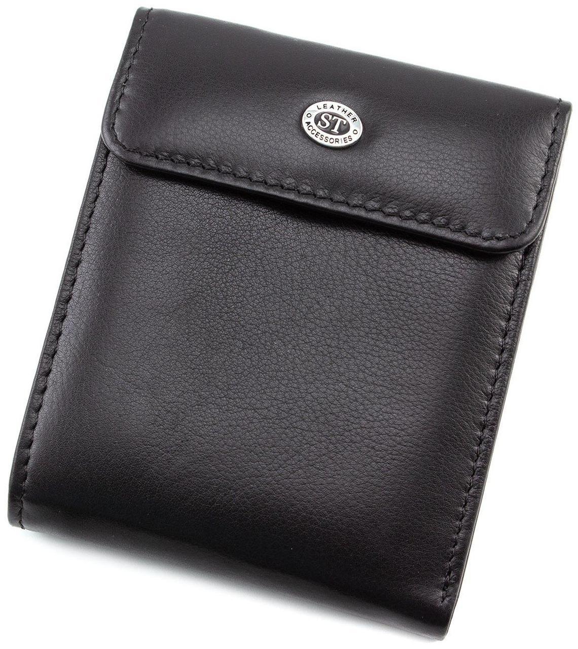 Кошелек мужской ST Leather ST155 Черный