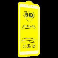 Cтекло 9D Xiaomi redmi 6 А белое, защитное