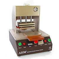 Термопресс с пневмоприводом AIDA A-558A для склеивания рамок с дисплейными модулями iPhone