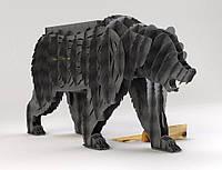 """Мангал """"Медведь Гризли"""", (подставка для цветов), фото 1"""
