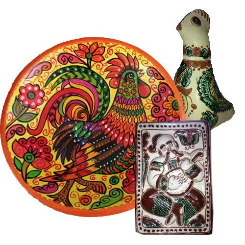 Елементи декору з глини