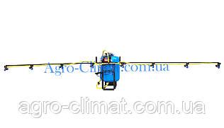Опрыскиватель на мотоблок  50 л с компрессором штанга 4,5 м