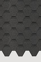 Битумная черепица Docke Pie Basic шестигранник серый