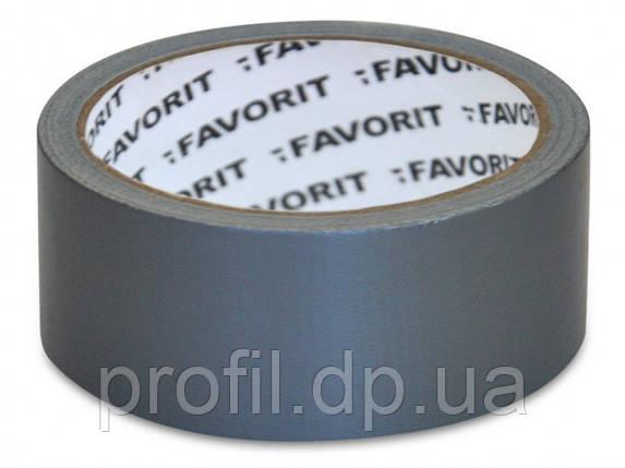 Лента клейкая армированная универсальная Favorit 50 мм х 50 м, фото 2
