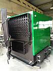 Нестандартный пеллетный котел 600 кВт всего 2м высотой.