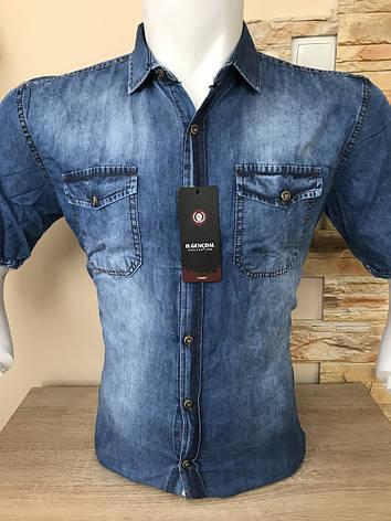 Мужская джинсовая рубашка, фото 2