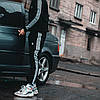 Чоловічі спортивні штани, чоловічі спортивні штани Adidas, Адідас чорні, фото 6
