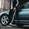 Чоловічі спортивні штани, чоловічі спортивні штани Adidas, Адідас чорні, фото 7