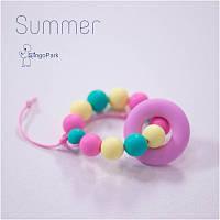 Силиконовый браслет-прорезыватель BABY MILK TEETH Summer