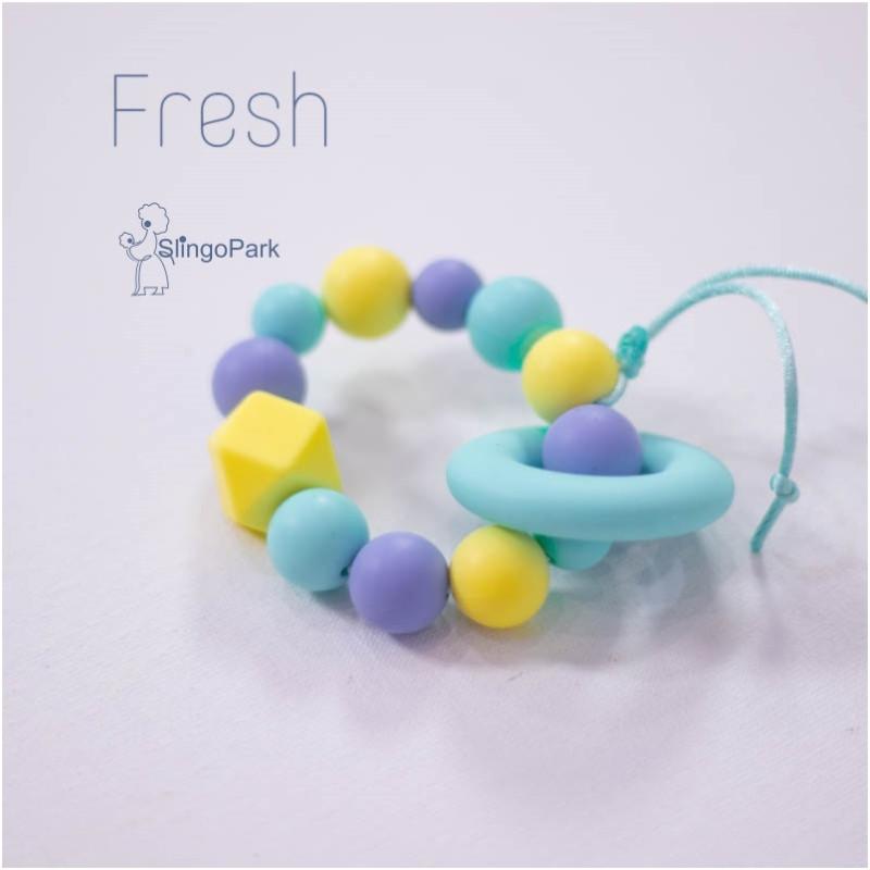 Силиконовый браслет-прорезыватель BABY MILK TEETH Fresh
