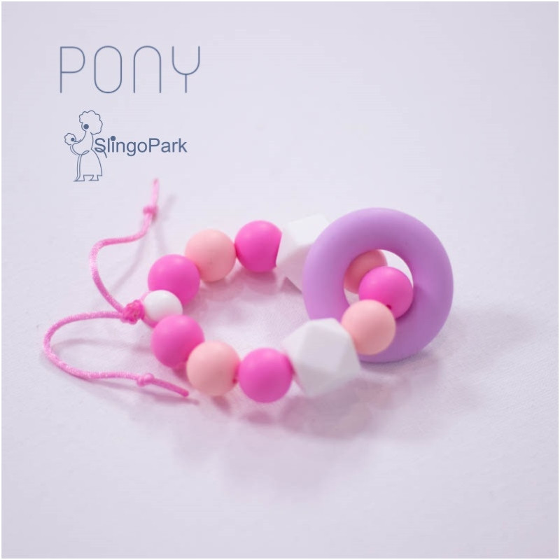 Силиконовый браслет-прорезыватель BABY MILK TEETH Pony