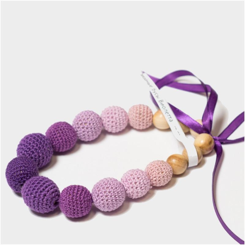 Слингобусы вязаные JANNA-D-ART «Виолетта»