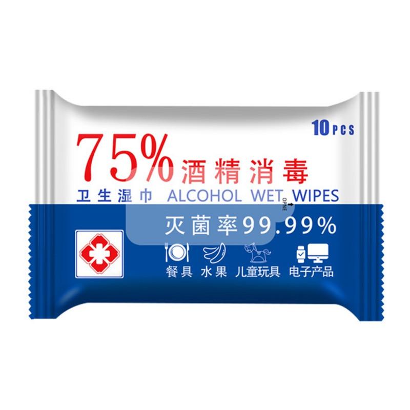 Салфетки спиртовые 75%  гигиенические одноразовые. Салфетки влажные антибактериальные