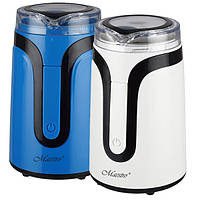 Кофемолка бытовая  150 Вт, 50 г (белый, синий)