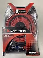 Набор провода Nakamichi NK-WK14 для 2-х канального усилителя