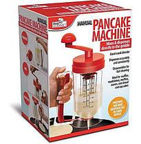 Універсальний ручний міксер з дозатором Pancake Machine, фото 2