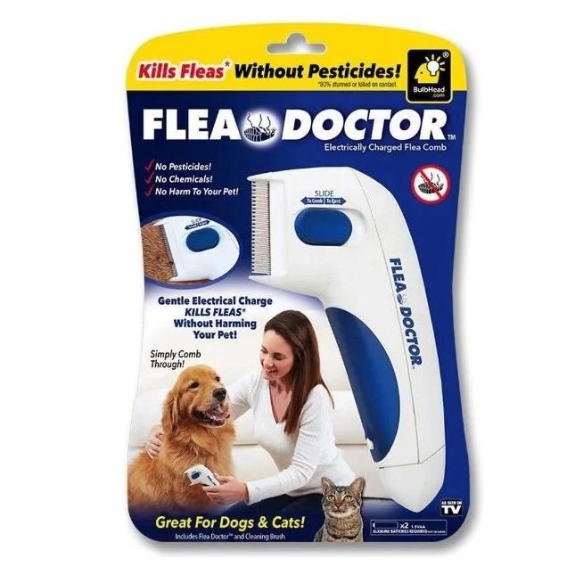 Електрична гребінець Flea Doctor від бліх для тварин