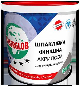 Шпаклевка финишная акриловая (супербелая готовая) 30 кг ANSERGLOB
